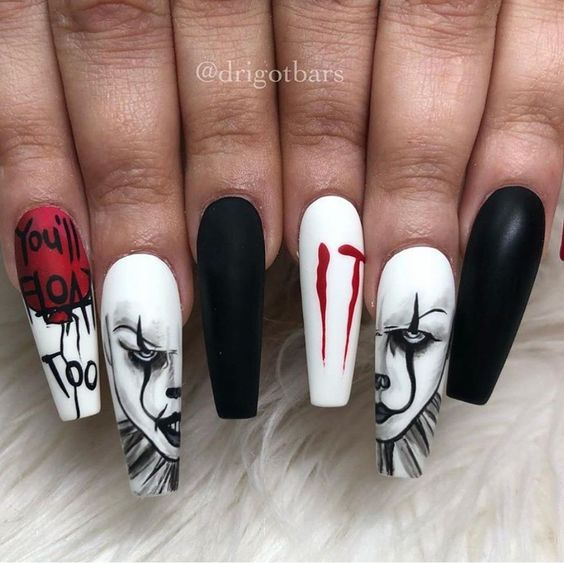 nail art halloween film
