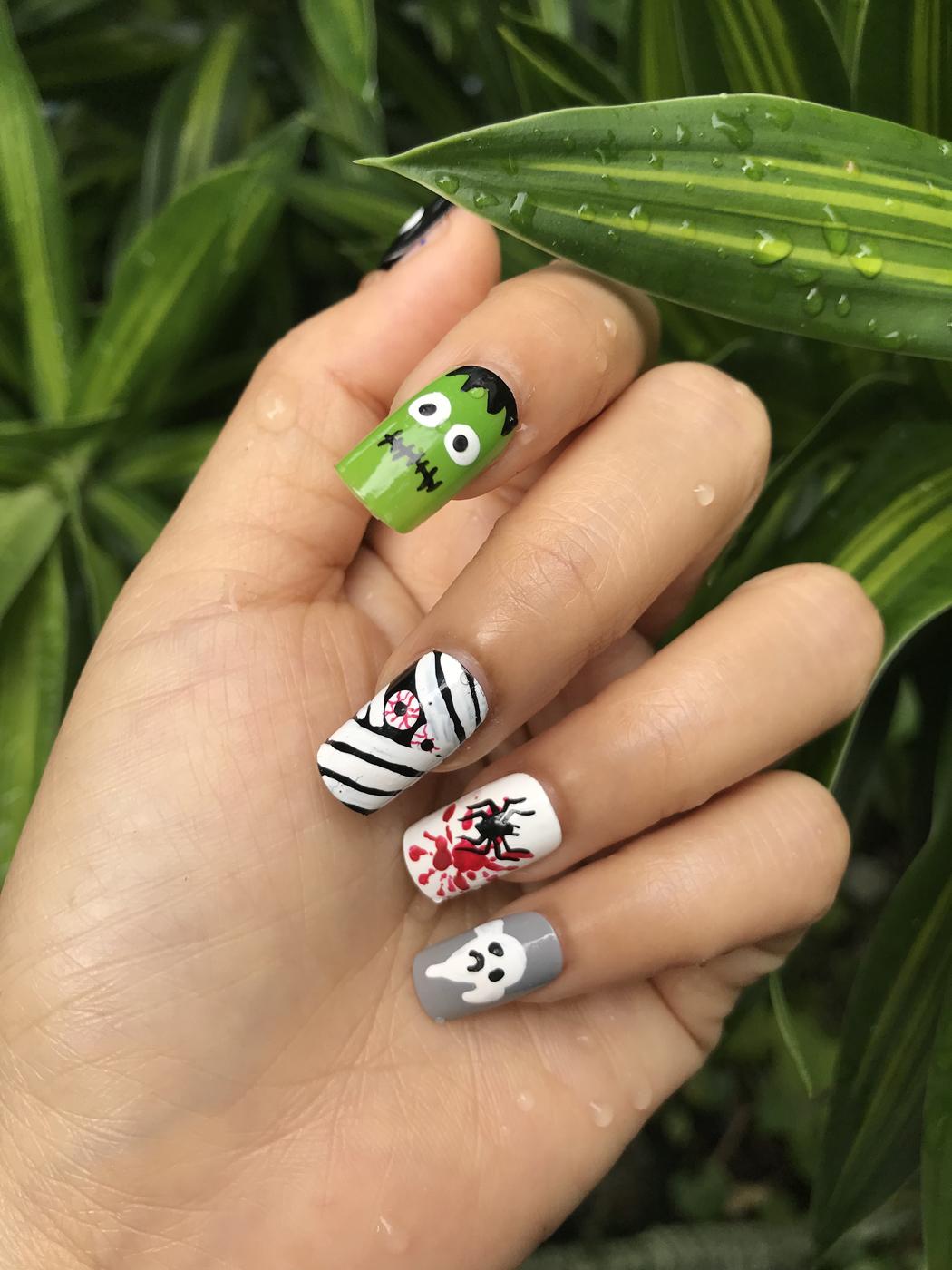 nail art halloween idées inspiration