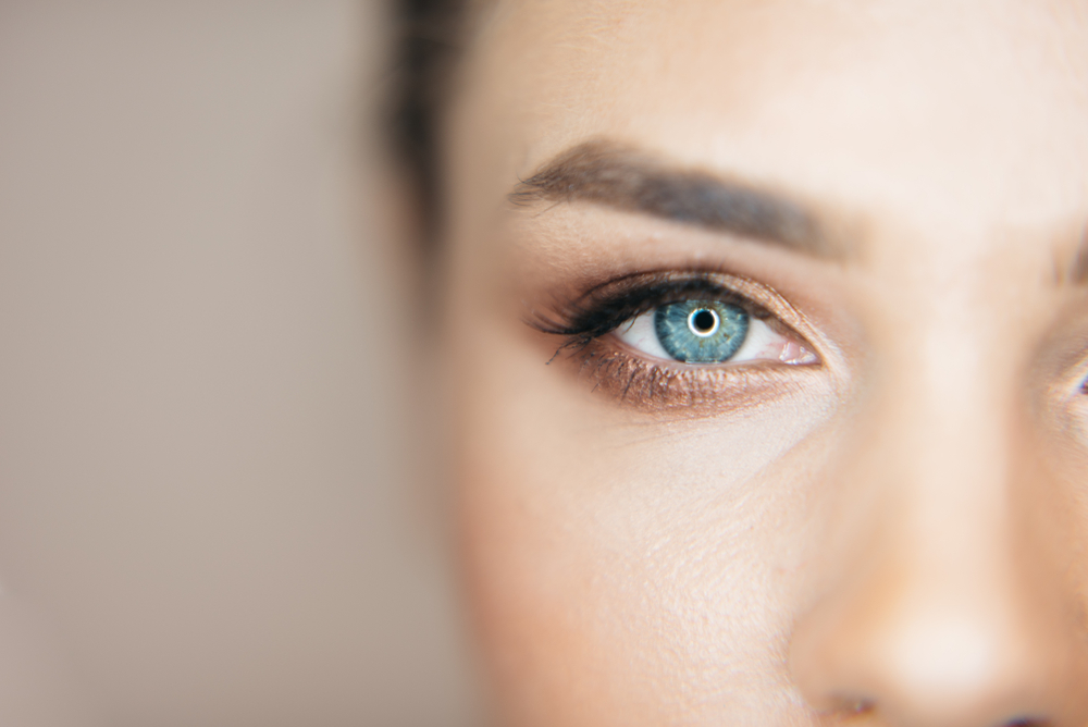 maquiller yeux bleus
