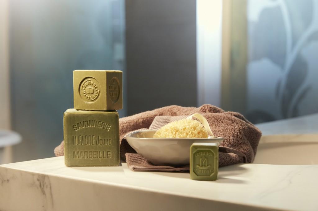 le savon de Marseille pour soins beauté
