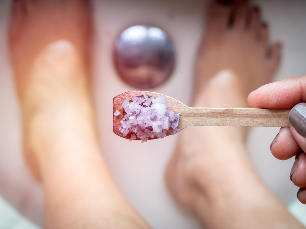 sel d'Epsom pour sa beauté